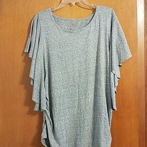 NWOT Isabel Maternity size XXL ruched side top